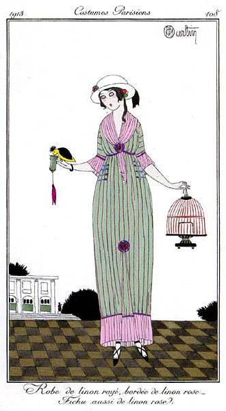 dress 1913 bird