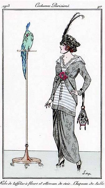dress 1913