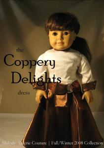 the Coppery Delights dress