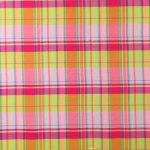 plaid silk doupioni