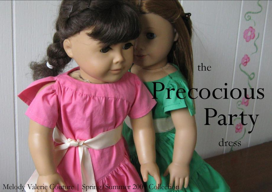 the Precocious Party dress