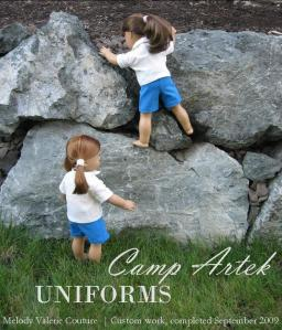 Camp Artek Uniforms