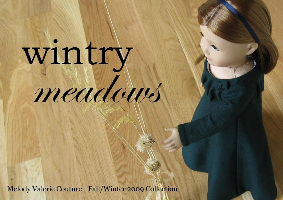 the wintry meadows dress