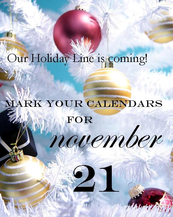 Holiday Line announcement