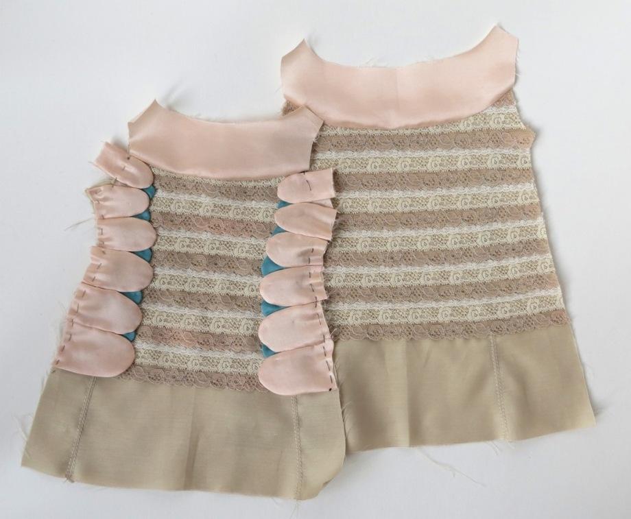 lace dress in progress