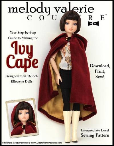 Ellowyne Ivy Cape pattern cover
