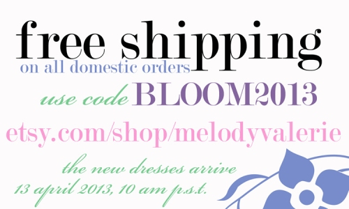 bloom free shipping web size