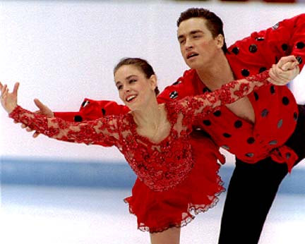 Ekatarina Gordeeva Red 1994 Short Program Dress