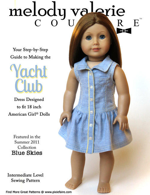 Yacht Club sewing pattern cover