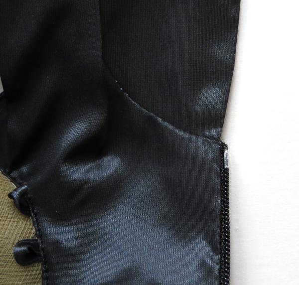 inside top of zipper cadewyn