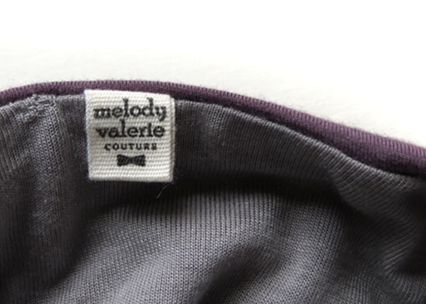 new twill label in dress