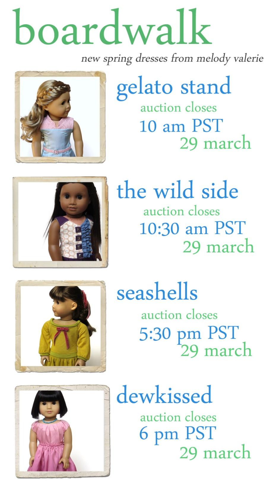 auction schedule