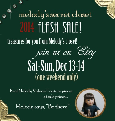 2014 melodys secret closet flash sale announcement
